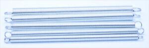 Wire Diameter0.4-2.5mm Galvanized Spring Steel Tension Spring Tension Telescopic