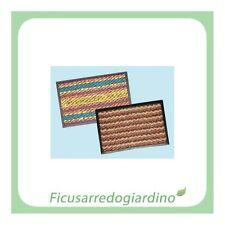 Zerbino Tappeto Ingresso Casa Brixo Stripes - 40x80 cm.