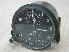 Vintage USSR Air Force MIG Cockpit Panel Clock Military Chronograph ACHS-1