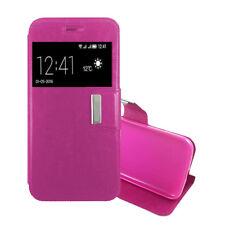 Funda Libro HUAWEI NOVA Cuero sintetico Interior Gel Top Protect rosa FLIP CASE
