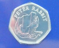 BEATRIX POTTER PETER RABBIT 15TH LAST 50P COIN 2020 BU SEALED 150TH ANNUAL 2016