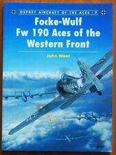 Focke-Wulf FW 190 Aces of the Western Front - Osprey Publishing