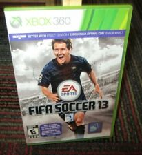 FIFA SOCCER 2013 GAME F/ MICROSOFT XBOX 360, GAME DISC, CASE, INSERTS, EA SPORTS