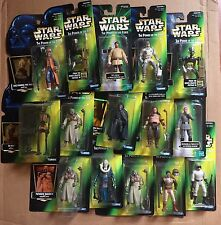 Lot of 16 Star Wars Action Figure Power of the Force