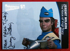 THUNDERBIRDS 50 Years - JEREMY WILKIN as VIRGIL TRACY, Variant B, Autograph Card