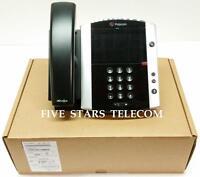 Polycom VVX 601 VoIP IP SIP Gigabit Business Media Phone (2200-48600-025) - NEW