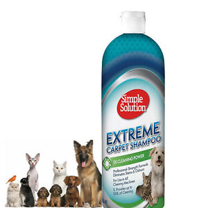 Carpet shampoo Pet Dog Cat Simple Solution Extreme Stains and Odours, 1 Litre
