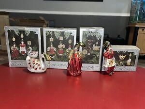grande living 12 days of christmas ornament set (RARE) complete set