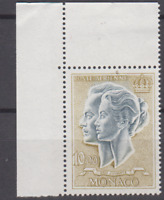 PP156 - MONACO 1966 STAMPS PRINCE/PRINCES RANIER/GRACE KELLY 10F AIRMAIL MNH