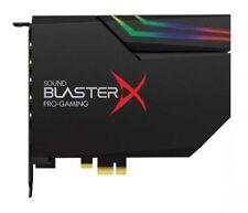 Creative son BlasterX Ae-5 Noir 32bit/384khz Haut Res Sbx-ae5-bk