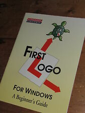 LONGMAN LOGOTRON FIRST LOGO FOR WINDOWS A BEGINNER'S GUIDE NO SOFTWARE INCLUDED