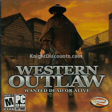 WESTERN OUTLAW Wanted Dead or Alive Wild West Game NEW
