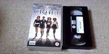 The Craft UK PAL VHS VIDEO 2002 Fairuza Balk, Neve Campbell, Robin Tunney HORROR