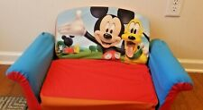 DISNEY Mickey Minnie Mouse Goofy pluto marshmallow Bean Bag Kid soft plush Chair