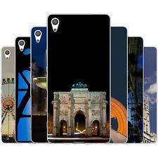 dessana München City TPU Silikon Schutz Hülle Case Handy Tasche Cover für Sony