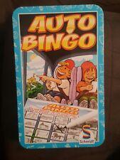Schmidt Auto Bingo Card marker Game tin - car ride - free shipping