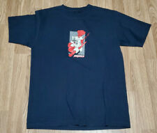 Chinese Monkey King Kung Fu Dark Blue Official Sequence T Shirt Medium