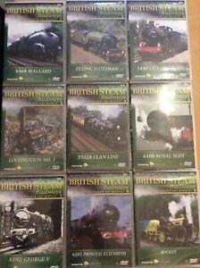 British Steam Railways DVD with MAGAZINE Issues 1-48 CHOOSE FROM LIST DeAGOSTINI