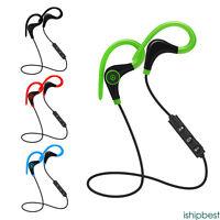 Wireless sport stereo auricolare Bluetooth cuffia earphone per iPhone Samsung LG