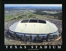 TEXAS STADIUM Dallas Cowboys Aerial View Premium Poster Print