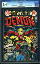Demon 1 CGC 9.4 Bronze Age Key DC Comic 1st App. Etrigan IGKC L@@K