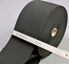 1m Gummiband 100mm breite sehr starke Zugkraft Farbe schwarz