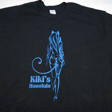 NEW KIKI'S HONOLULU HAWAIIAN HAWAII TIKI DIVE BAR ISLAND GIRL T SHIRT Mens XL
