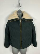 WOMENS PRIMARK BLACK ZIP UP PADDED CASUAL WINTER PUFFER JACKET COAT SIZE UK 12