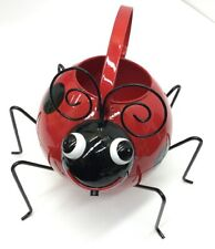 """Ladybug Watering Can, 10"""" Height"""