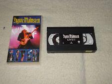 VHS-  YNGWIE MALMSTEEN- LIVE