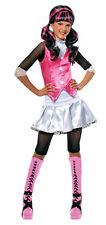 Girls Draculara Monster High Halloween Costume Dracula Fancy Dress Child M NEW