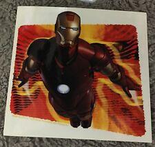 Iron Man Sticker NOS Licensed