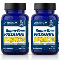 Super Beta Prostate Advanced - Prostate Supplement - 2 Bottles - FREE S&H!