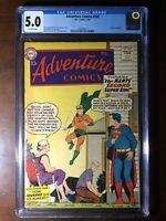 Adventure Comics #260 (1959) - 1st Silver Age Aquaman!!! - CGC 5.0 - Key!!!