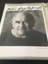 "Ed Asner! Autographed 8x10"" Photo. 90's Headshot. Ships Immediately!"