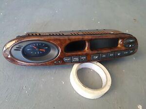 2000-2002 Ford AU S2 Fairmont Ghia Fairlane Woodgrain Climate Control Heater A/C