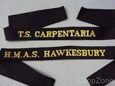 Royal Australian Navy Cap Tally, HMAS Hawkesbury TS Carpentaria