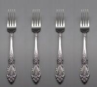 Oneida Stainless WORDSWORTH Dinner Forks - Set of Four New