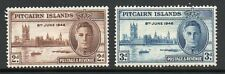 Pitcairn Islands 1946 Victory unmounted mint set stamps