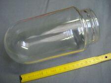 verre neuf cylindrique  lampe de cour extérieure (réf A) lanterne