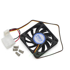 60mm x 10mm 3pin & 4pin Cooler Cooling Fan For Mini PC CASE Chipset Replacement
