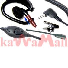 2X Ear Headset Mic VOX for Vertex Yaesu VX-180 VX-2R 5R