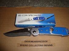 Pocket Knife With Pocket Clip New Never Used Condition Hunting / Fishing Sharp!