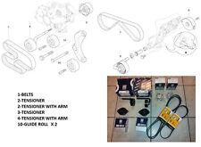 BMW 3 E46 5 E39 330D 530D 3.0D X5 3.0 D ALTERNATOR A/C BELT TENSIONER FULL SET