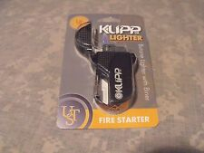 Ultimate Survival Technologies: Klipp LIghter, Black, w/Carabiner, Butane UST
