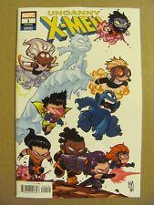 Uncanny X-Men #1 Marvel Comics 2018 Series Skottie Young Variant 9.4 Near Mint
