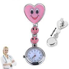 Reloj de pulsera Smiley Enfermera segunda mano Rosa