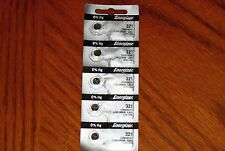 5 Pieces 321 Energizer Watch Batteries  FREE Shipping