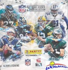 2018 Panini NFL Football Stickers MASSIVE 50 Packs Factory Sealed Box