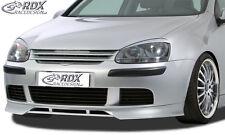 RDX Frontspoiler VW Golf 5 Front Spoiler Lippe Vorne Ansatz PUR ABS